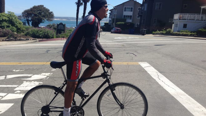 On March 23, in conjunction with the city's cleanup of Chinatown, Salinas native Thomas Toloy will launch his 40 day 40 mile  ride to raise money for the city's homeless.