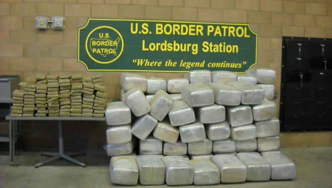 Border Patrol agents in Lordsburg foiled two separate drug-smuggling incidents and seized 1,763 pounds of marijuana in the Animas Valley of southwestern New Mexico