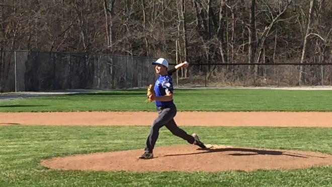 Danbury's Ben Schank worked hard in the offseason to make the most of his senior year on the diamond.