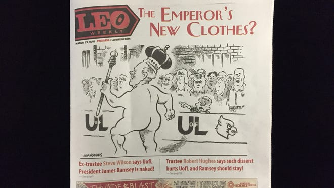 The cover of this week's LEO