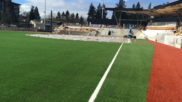 The Ducks will open their new softball stadium on Thursday against Stanford.