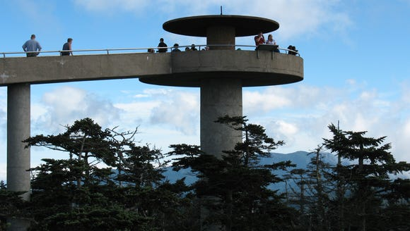 Clingmans Dome Road in Great Smoky Mountains National
