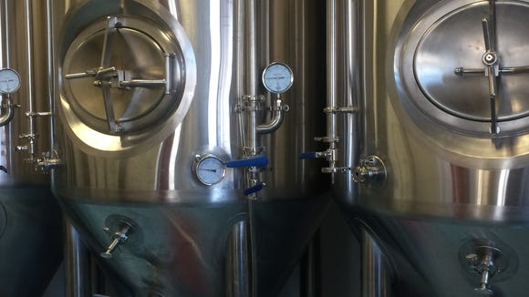 Fermentation tanks will be filled with beer this weekend as Devil's Creek prepares for an opening at the end of the month. The company will launch with four beers.