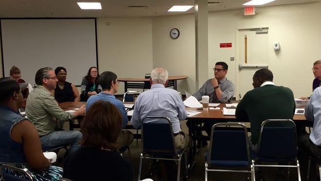 File art of a Leon Classroom Teachers Association meeting.