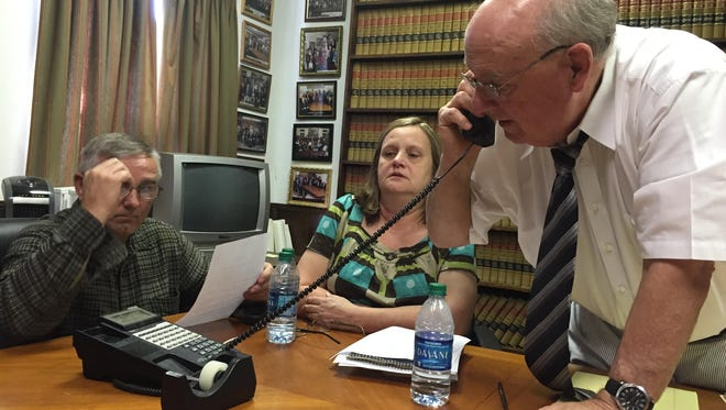 Michael and Terry Boarts, parents of deceased Melissa Boarts, have hired attorney Julian McPhillips to file suit on their deceased daughter's behalf.