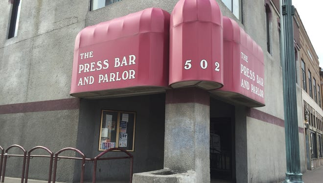 The Press Bar and Parlor in downtown St. Cloud.