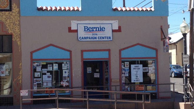 """Progressive County Commission candidates Harry Browne, Alicia Edwards, and Marilyn Alcorn will be featured guests at """"Tuesdays at Bernie's,"""" held at 5:30 p.m. today in the Bernie Campaign Center, 215 W. Broadway."""