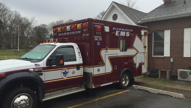Harrison EMS ambulance
