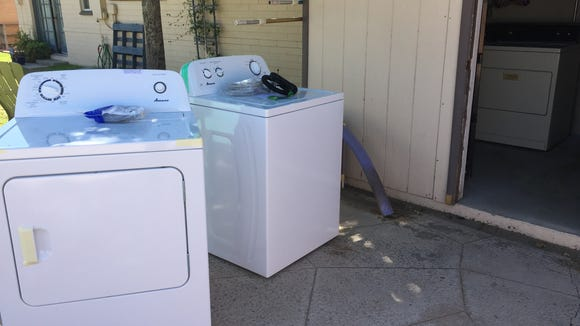 Buying a new washer and dryer seemed like a very adult