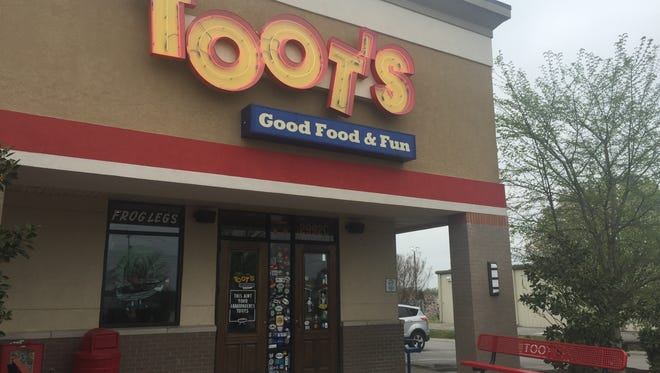 Toot's has a presence on South Church Street and is always packed.