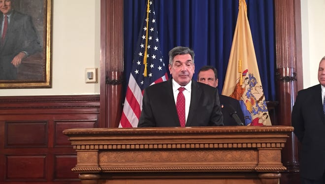 Gov. Christie nominated Democrat Timpone to fill a vacancy on the state Supreme Court Monday.