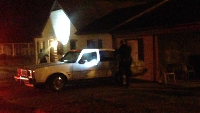 Jackson police confirmed a house on Cedar Street was struck by a bullet Thursday night.