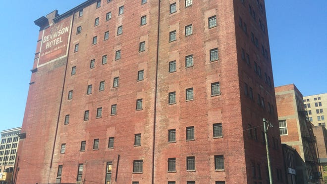 The Dennison Hotel is located along Main Street between Seventh and Eighth streets Downtown.