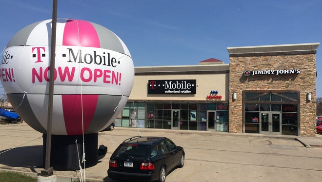 T-Mobile has opened a new shop in Oshkosh, and with it's expanded network, expects to drop new stores elsewhere across the state.