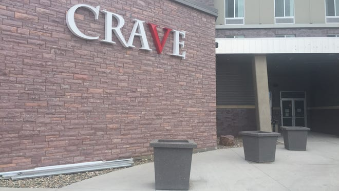 Crave is preparing to open at the Hilton Garden Inn Downtown.