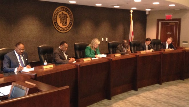 The Montgomery County Commission approved all agenda items at its April 18, 2016 meeting.