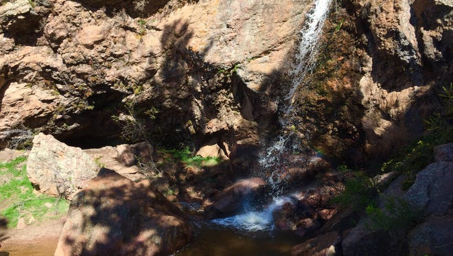 Take the easy to moderate hike to Horsetooth Falls. The trail is 1.7-miles one-way.