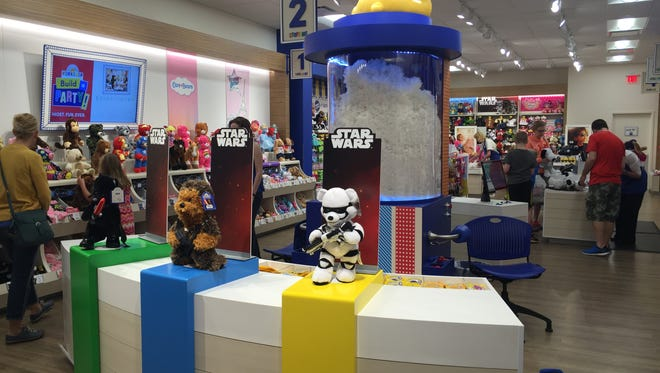 Build-A-Bear Workshop opened a renovated space at The Empire Mall.