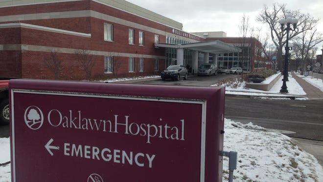 Oaklawn Hospital in Marshall.