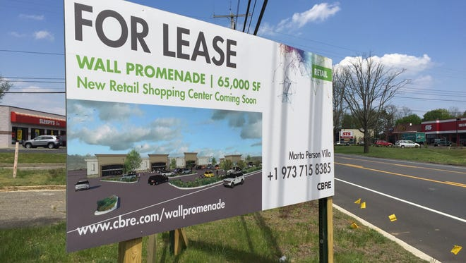 The Wall Promenade is a plan to turn the former Levitz Furniture location on Route 35 in Wall into a shopping center.