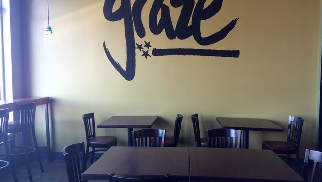 Vegan bistro and bar Graze is now open at 1888 Eastland Ave. in East Nashville.