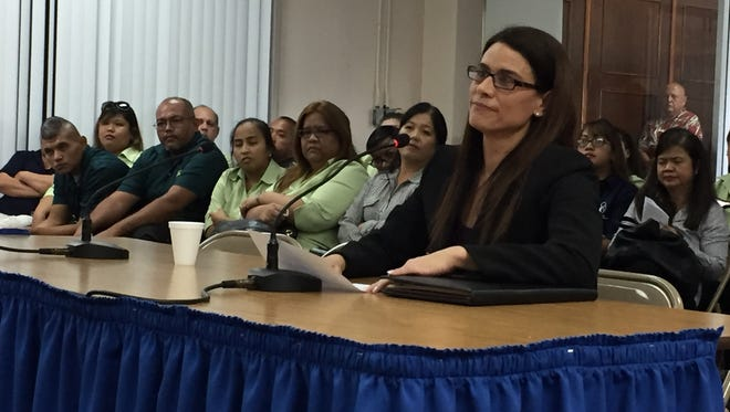 Acting Department of Administration Director Christine Baleto received support from community members on April 29 for her nomination to the department's head position. Various community members testified before lawmakers.