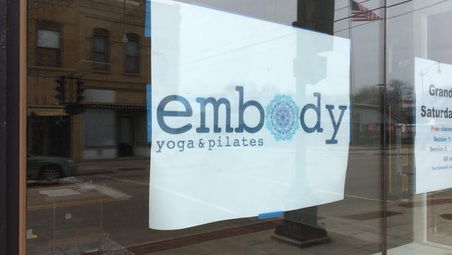 Embody Yoga and Pilates is now open at 579 N. Main Street.