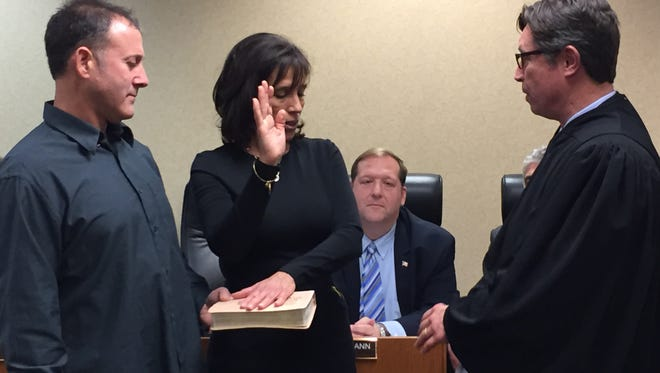 Valerie Moldow of Nanuet was appointed to the seat formerly held by Supervisor George Hoehmann.
