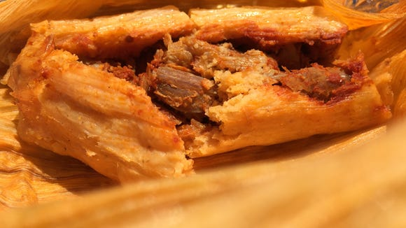 The pork tamale from Star Taco is $2.