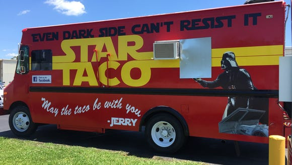 A new food truck called Star Taco can most often be
