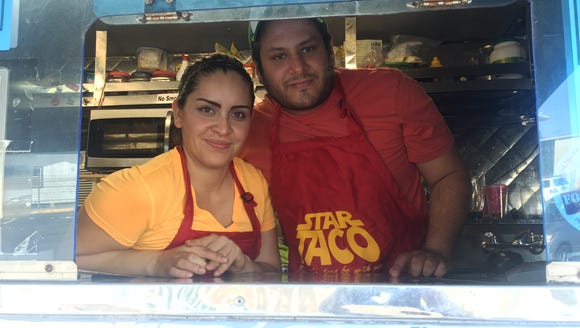 Jerry Jimenez recently began serving Mexican food from