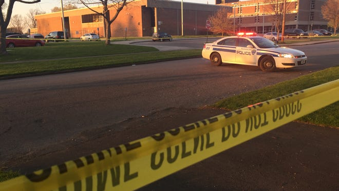 Two men were stabbed following a road rage incident on Fernwood Park in Rochester Thursday night.