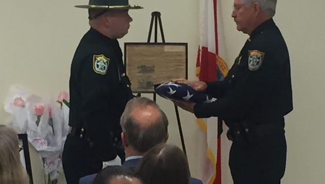 The Santa Rosa County Sheriff's Office paid respect Tuesday to fallen sheriff Bart Broxson and other officers from around the state who gave their lives in the line of duty.