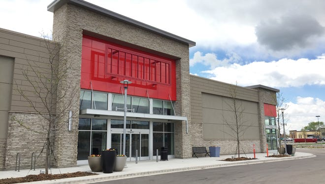 The red awning that defines Sports Authority is in place at its new store at Foothills Mall. The sporting goods retailer will liquidate its assets and close all 450 stores, according to published reports.