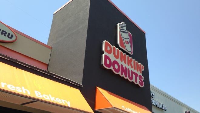 Dunkin' Donuts has re-opened at 5 Stonebridge Blvd.