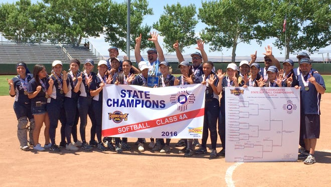 Silver High captured its sixth straight state softball title Friday at the UNM Lobo Field in Albuquerque. The Lady Colts were the sixth seed and knocked off No. 3 Hope Christian, 10-0.