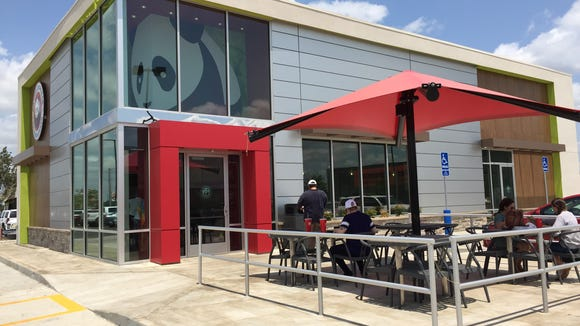 Panda Express is now open in the Ambassador Town Center anchored by Costco.