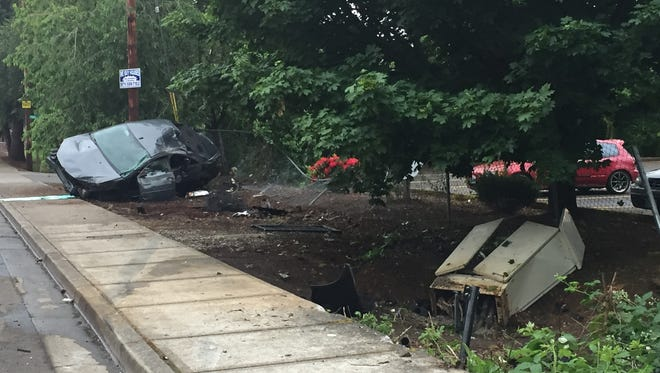 A Salem man was cited for DUI, harassment and reckless driving following a crash in South Salem.