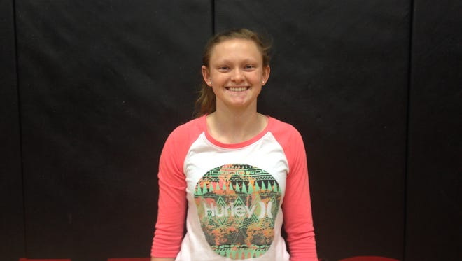 North Buncombe senior Lauren Guthrie has committed to play college basketball for Montreat.