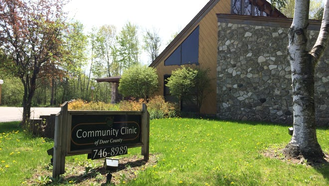 The closed Door County Community Clinic's supplies have been donated to Milwaukee's City on a Hill .