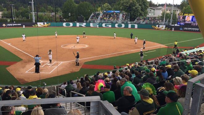 Jane Sanders Stadium in Eugene.