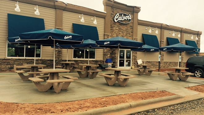 The new Culver?s restaurant on Airport Road should open June 13.