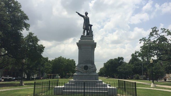 The decision to remove four monuments that celebrate Confederate era figures or events and the bid process to have them removed has been marked by controversy and court hearings.