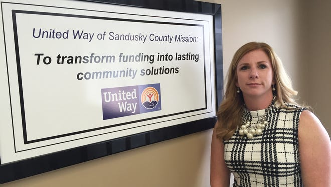 Sandusky County United Way Director Abby Slemmer reveals second phase of community impact agenda.