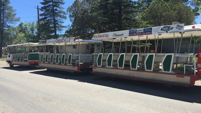 For $5, patrons can ride the Ruidoso Tram all day long, catching a lift at various locations in midtown throughout the day.