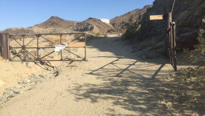 Gate at base of Murray Peak set to block potential hikers in off months