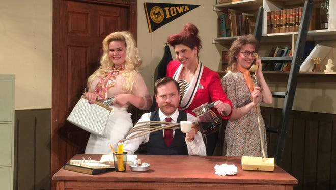 """Performances of the hit musical, """"9 TO 5"""" continue this weekend at Muncie Civic's Mainstage Theatre."""