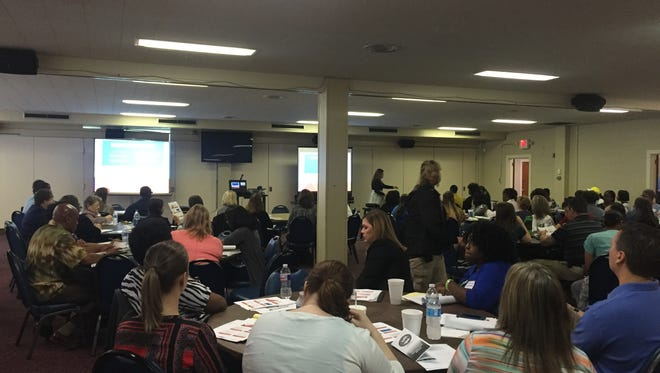 A recent conference in Shreveport about human trafficking.