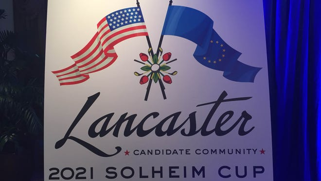 2021 Solheim Cup logo for Lancaster Country Club.