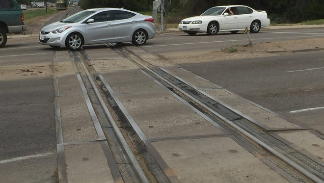 The railroad crossing of Lemay Avenue near Riverside Avenue is expected to be repaired in July. Lemay Avenue will be closed three or four days during construction.